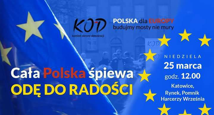 Cała Polska śpiewa Odę do radości