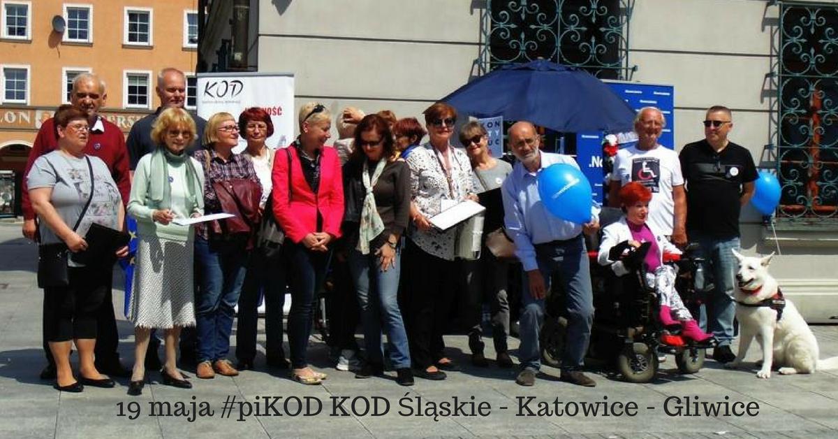 19 maja #piKOD KOD Śląskie – Katowice – Gliwice