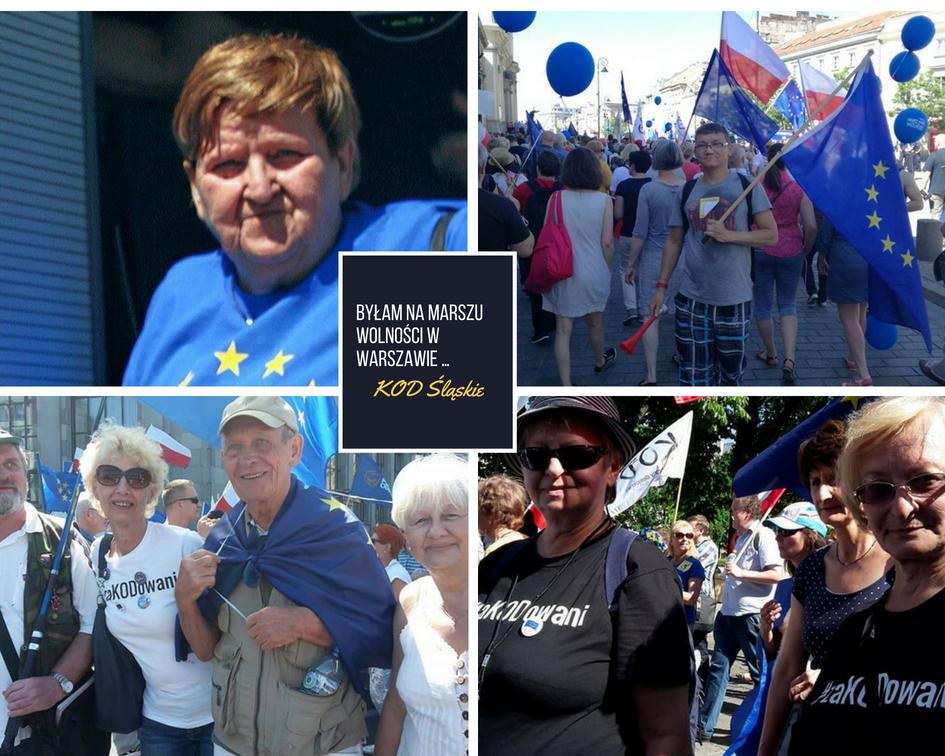 Byłam na Marszu Wolności w Warszawie (by MagNu)