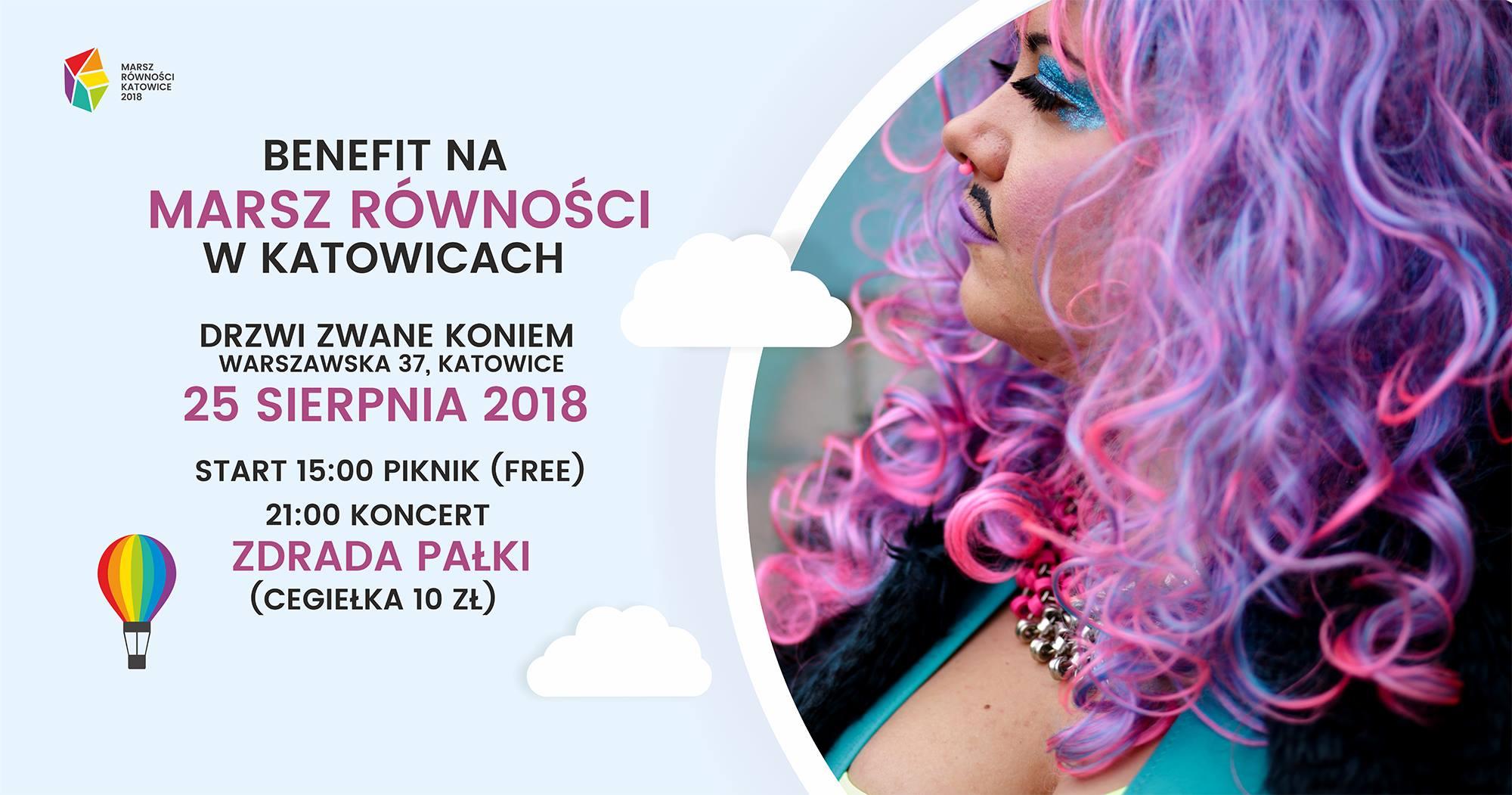 Benefit na Marsz Równości @ Warszawska 37 | Katowice | śląskie | Polska