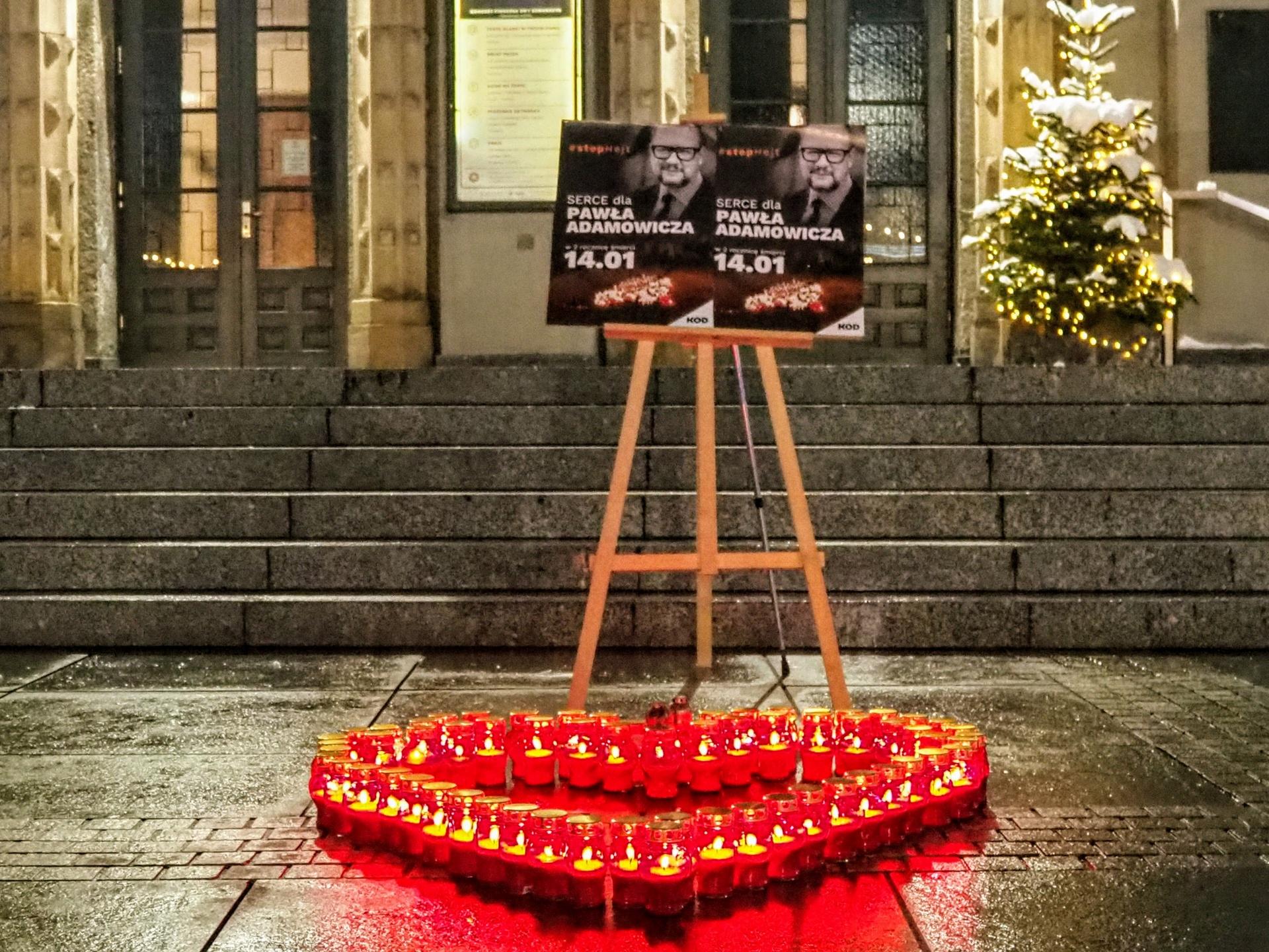 14 stycznia 2021 – w Katowicach uczciliśmy pamięć prezydenta Pawła Adamowicza