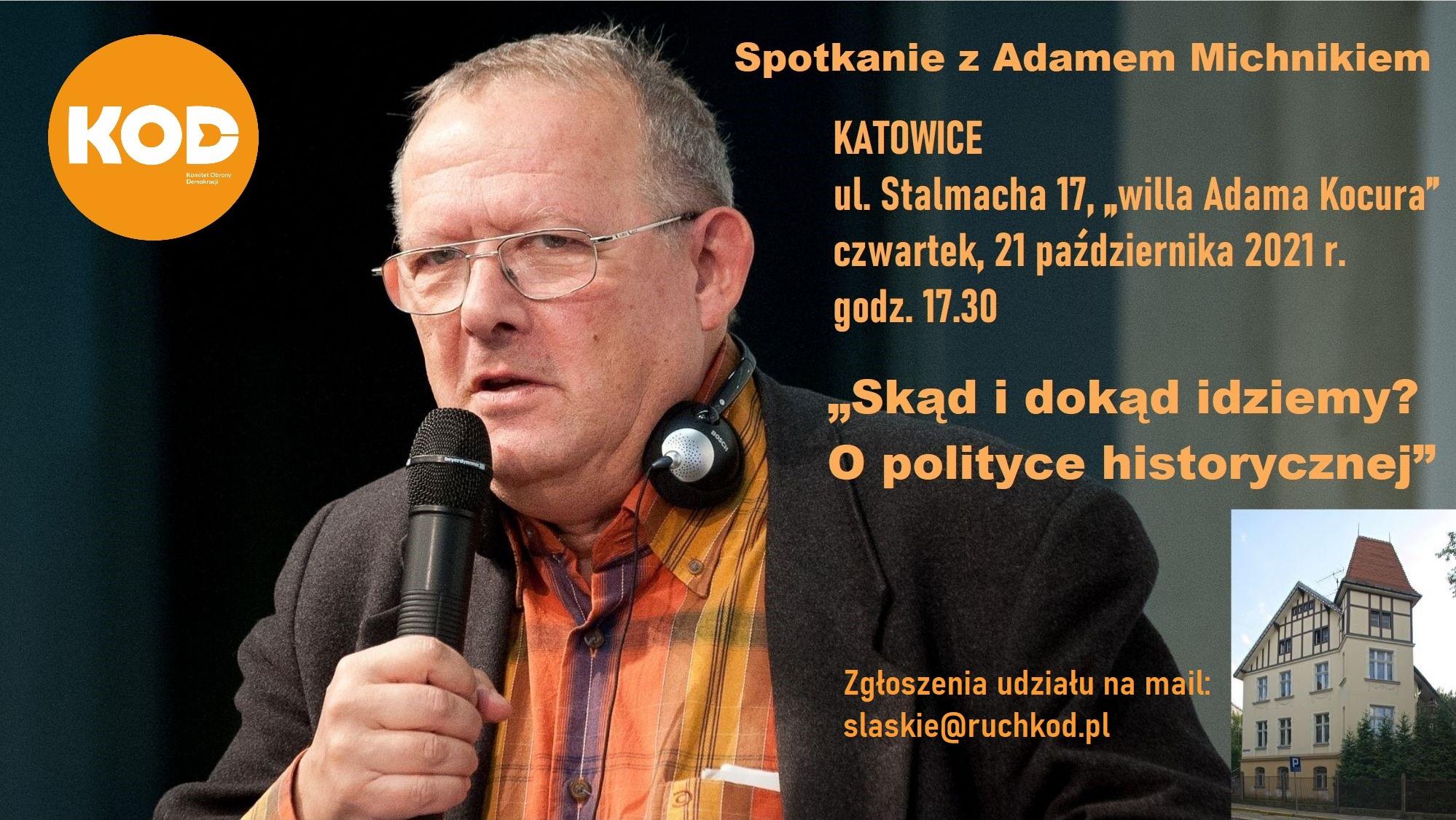 Spotkanie z Adamem Michnikiem @ Stalmacha 17